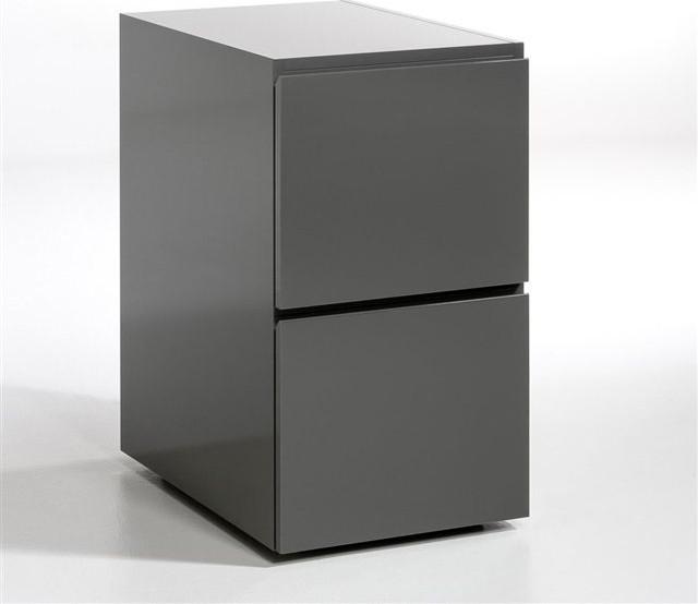 bloc tiroirs working contemporain meuble bureau et secr taire par am pm. Black Bedroom Furniture Sets. Home Design Ideas
