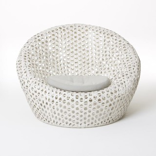 Montauk Nest Chair Oyster Contemporary Outdoor Lounge