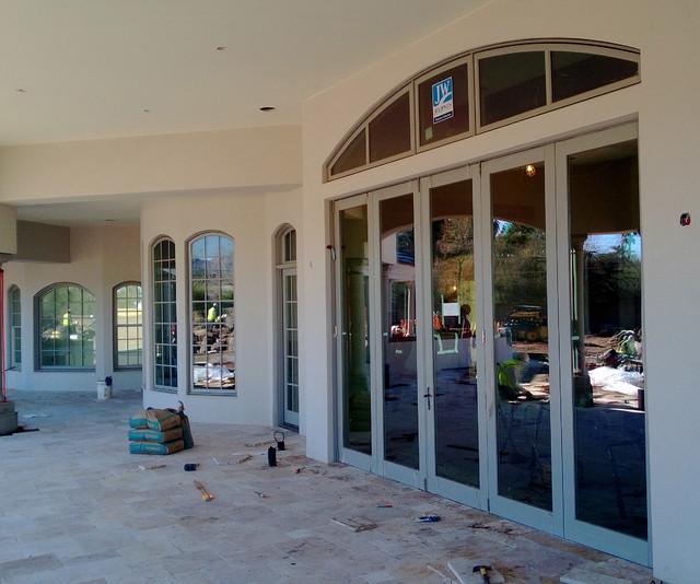 Jeld wen custom bi fold door system traditional for R furniture arroyo grande