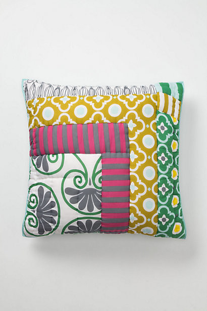Eclectic Pillow Cases : Lille Square Pillowcase - Eclectic - Pillowcases And Shams