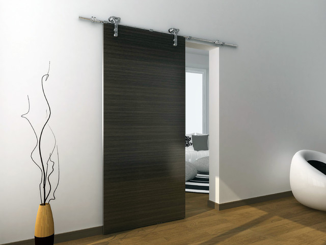 modern barn door hardware for wood door modern interior doors