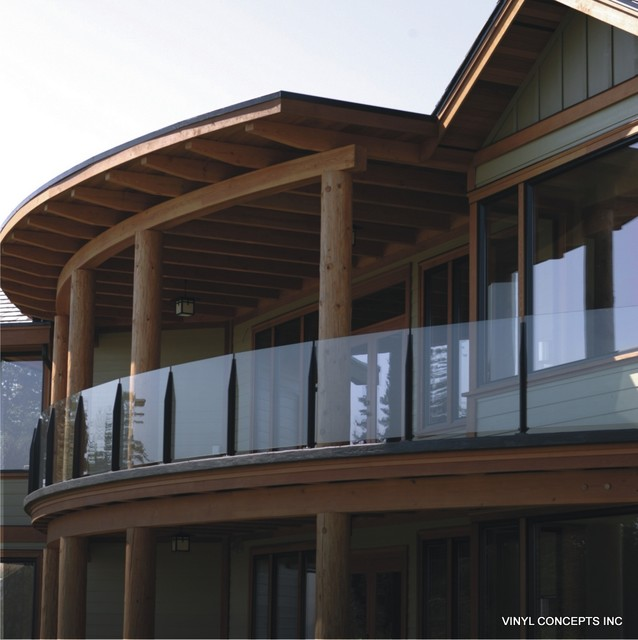 Glass Amp Clear Railings For Decks And Balconies Rustic
