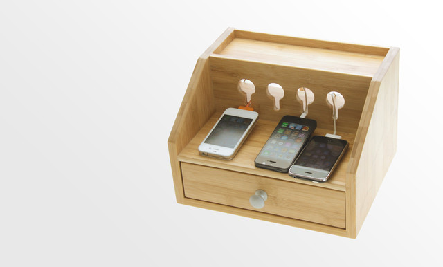 Home Office Cable Management: Bamboo Products For Home And Office