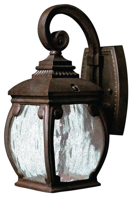 Hinkley Lighting Forum Traditional Outdoor Wall Sconce, Small, French Bronze - Traditional ...