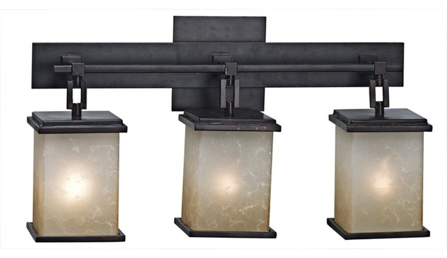 22 cool craftsman bathroom lighting for Arts and crafts bathroom lighting