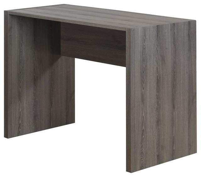 computer desk in taupe contemporary desks writing bureaus by shopladder. Black Bedroom Furniture Sets. Home Design Ideas