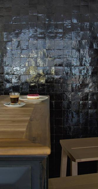 r alisation cr dence cuisine zelliges by ateliers zelij. Black Bedroom Furniture Sets. Home Design Ideas