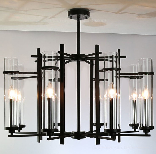 Black Metal Chandelier Chandeliers Design – Modern Black Chandelier