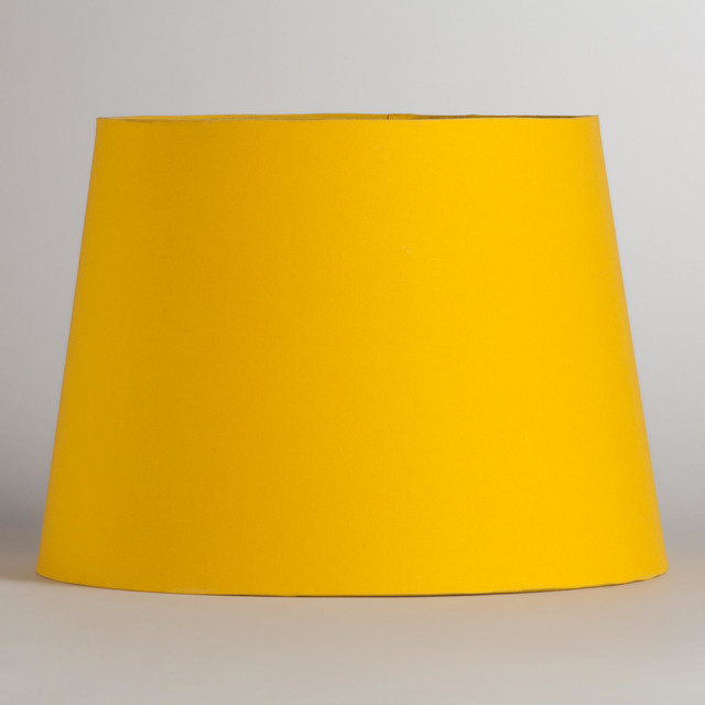 yellow silver embossed table lamp shade contemporary. Black Bedroom Furniture Sets. Home Design Ideas