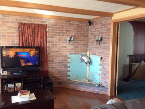 Foyer au gaz for Foyer exterieur au gaz