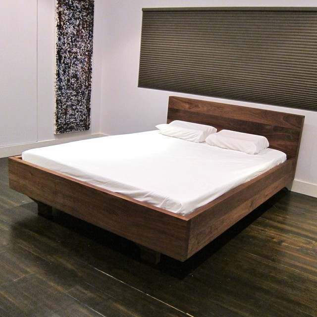 floating platform bed with storage 3