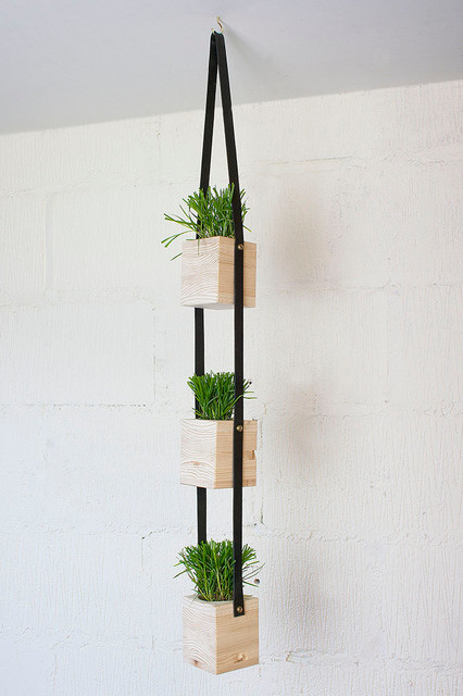 Hanging Wall Planter Contemporary Indoor Pots And