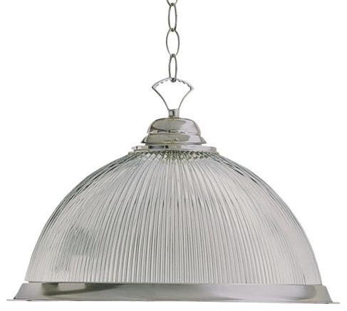 Ribbed Dome Pendant By Quorum International Modern