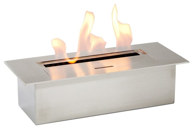 Eb1200 Bio Ethanol Insert Contemporary Fireplace Accessories Other Metro By Ethanol