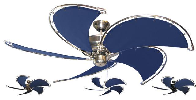 Blue Nautical Ceiling Fans Eclectic Ceiling Fans