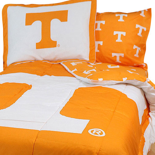 Ncaa tennessee vols bed set orange cotton bedding - Linge de lit contemporain ...