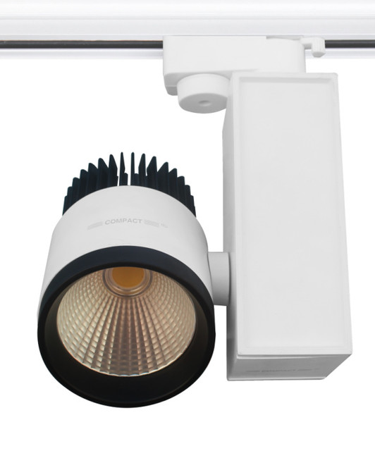 20w focus cob led track light industriel spot pat re other metro par compact lighting. Black Bedroom Furniture Sets. Home Design Ideas