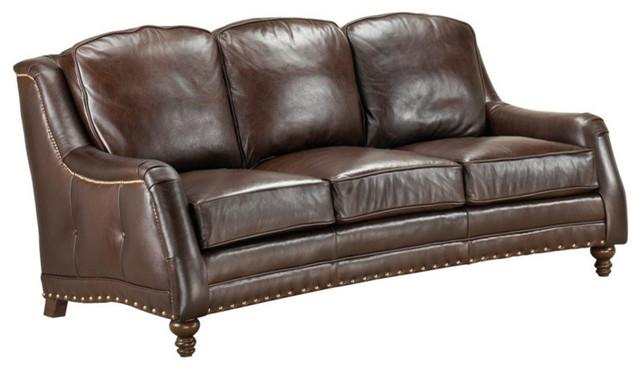 American Heritage Sundance Full Top Grain Leather Sofa