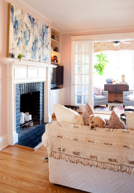 Creative Living Rooms For Style Inspiration Palette: Travel Inspired Living Room