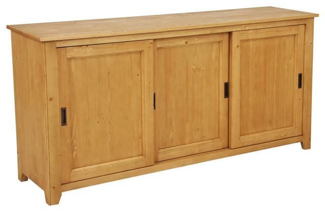 buffet bas 3 portes moderne buffet et bahut par interior 39 s. Black Bedroom Furniture Sets. Home Design Ideas