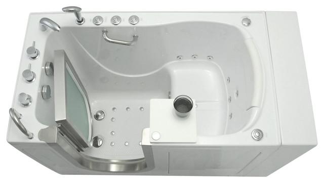 Ella 52 X30 Elite Walk In Ada Compliant Bathtub Left Whirlpool