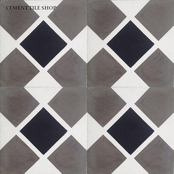 Contemporary Cement Tile