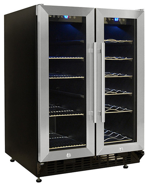 Vinotemp Wine and Beverage Cooler - Modern - Beer And Wine Refrigerators - by Wine Racks America