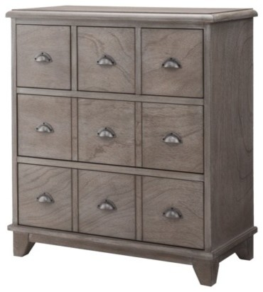 Threshold Apothecary Cabinet, Gray Wash - Traditional ...
