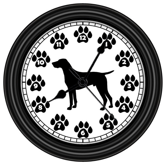 German Shorthaired Pointer Unique Wall Clock