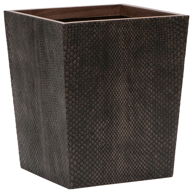 Pigeon poodle goa boa mushroom square wastebasket modern wastebaskets by zinc door - Modern wastebasket ...