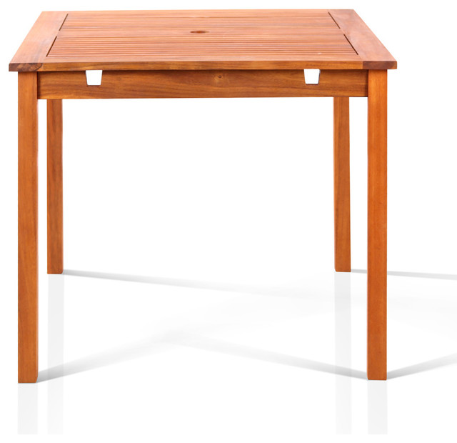 Well Square 47 X 47 inch Table Contemporary Outdoor
