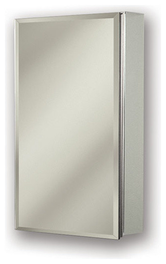 """Gallery 15"""" x 25"""" Medicine Cabinet, Surface Mount - Contemporary - Medicine Cabinets - by Luxury ..."""