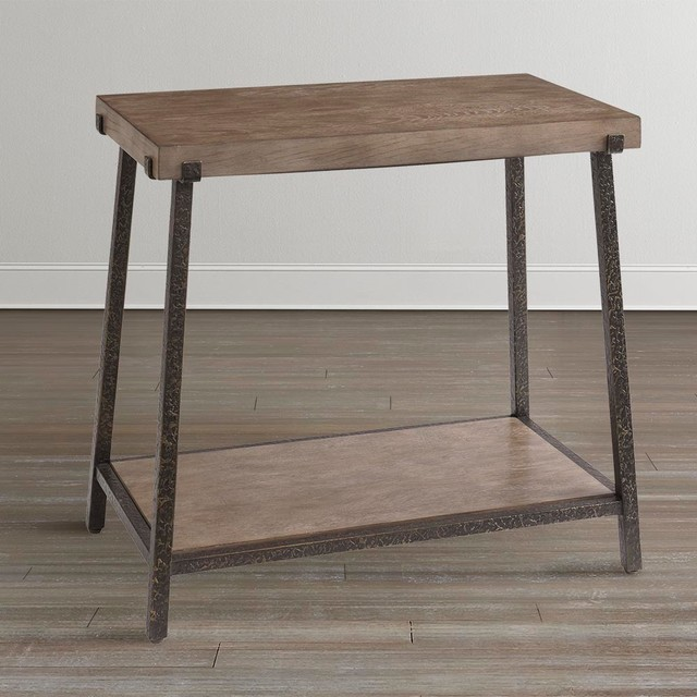 Bassett Tables: Compass Chairside Table By Bassett Furniture