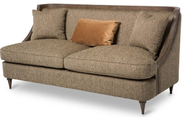 Eclectic Sofa : ... Wood Trim Sofa - Eclectic - Sofas - by Unlimited Furniture Group