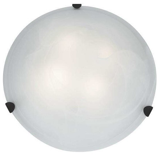 Access Lighting C23021RUALBEN1226BS Mona Modern Flush Mount Modern Flush