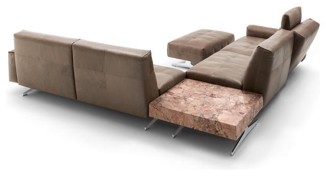 rolf benz 50 minimalistisch eck modulsofas. Black Bedroom Furniture Sets. Home Design Ideas