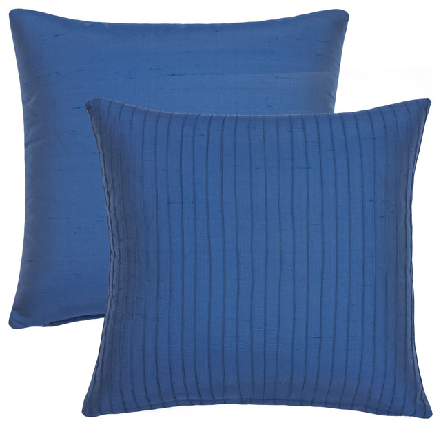 Blue Throw Pillows Overstock : Blue Willow Decorative Throw Pillows (Set of 2) - Contemporary - Scatter Cushions - by Overstock.com