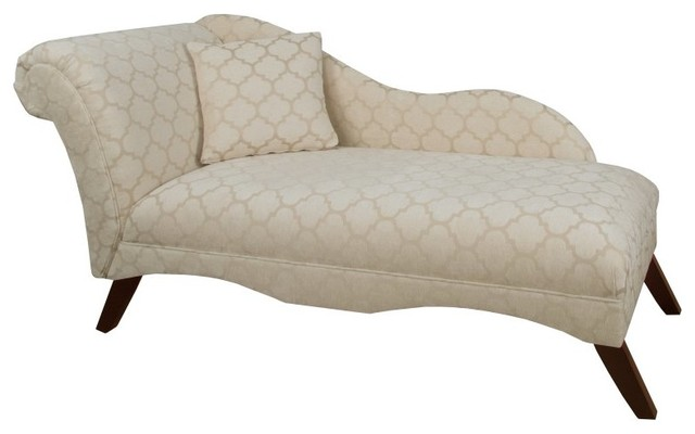 Skyline furniture geometric chaise lounge 9087esppstsnd for Chaise longue tours