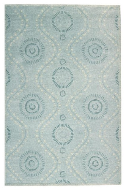 Martha stewart living ogee dot area rug traditional rugs for Martha stewart rugs home decorators