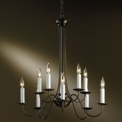 Hubbardton Forge Modern: Simple Lines Chandelier No. 107080 By Hubbardton Forge