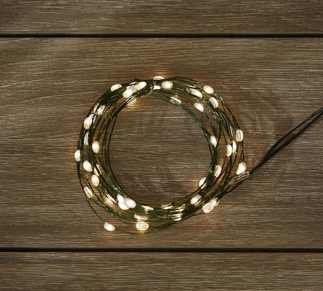 Outdoor String Lights Pottery Barn Trend - pixelmari.com