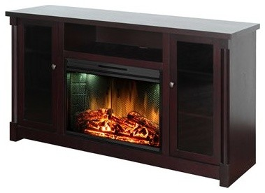 Muskoka Coventry TV Stand & Electric Fireplace - Eclectic - Entertainment Centers And Tv Stands ...