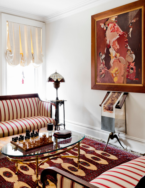 Living Room Organization Upper West Side Traditional New York By Apart