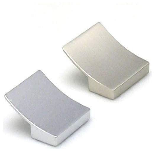 Topex Hardware 8-1041003235 Curved Square Pull Satin ...
