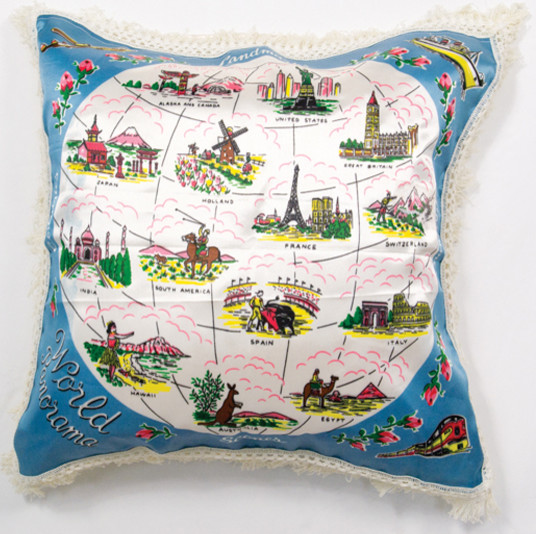 Eclectic Pillow Cases : Wordly Vintage Pillow Sham - Eclectic - Pillowcases And Shams - by House 8810