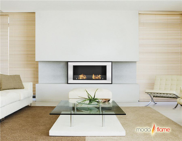 Ethanol Fireplaces Contemporary Indoor Fireplaces