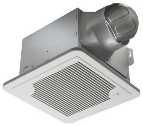 Delta Breezsmart 130 Cfm Fan With Humidity Sensor Smt130h Traditional Bathroom Exhaust Fans