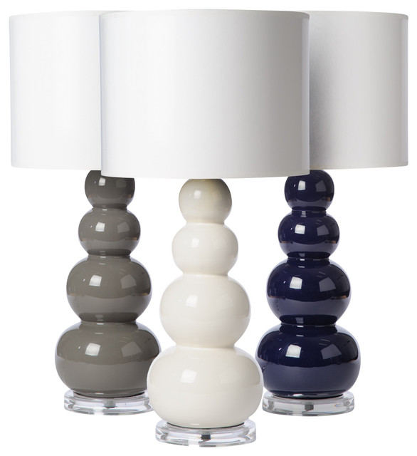 clay gourds table lamp white small modern table lamps other. Black Bedroom Furniture Sets. Home Design Ideas