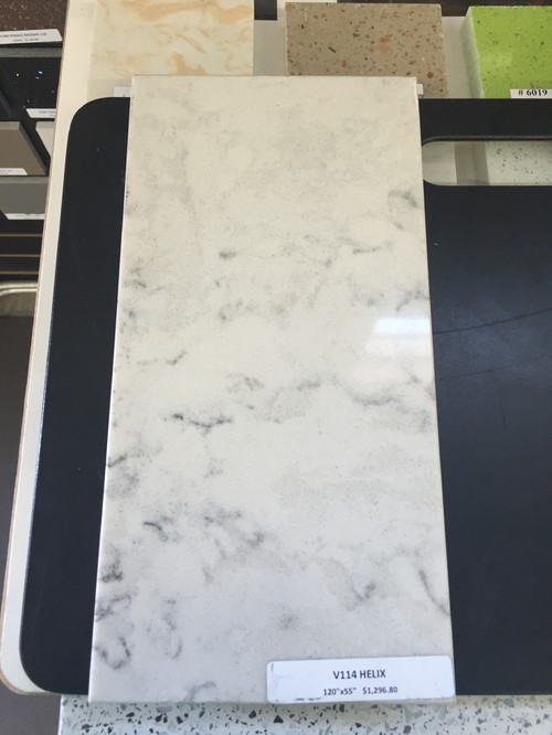 Lg Minuet Counters With Marble Backsplash