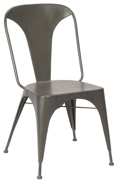 Alida Chair Industrial Dining Chairs By Plaidfox